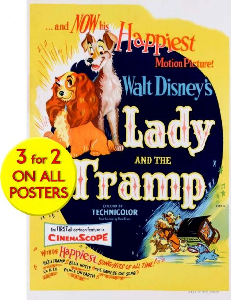 Lady and the Tramp Walt Disney